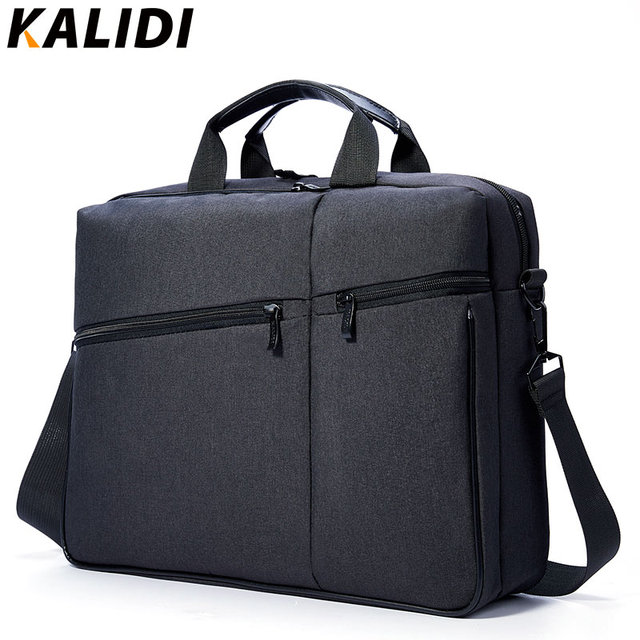 1d95a6c4df KALIDI 15.6 Pouce Hommes Sacs Ordinateur Portable Mallette Unisexe sac à  Bandoulière Messenger Sac pour Dell