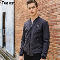 TANGNEST Men Slim Jacket 2017 New Arrival Men's Casual Solid Jackets Male Fashion Korean Style Spring Autumn Wear Coat MWJ2077