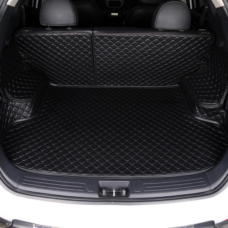 HLFNTF Custom Car Trunk Mat For Mazda 2 3 5 6 8 CX-4 CX-5 CX-7 CX-9 Atenza Tribute Car Accessorie Car Stying Car Trunk Pad