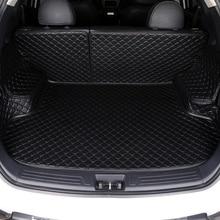 цена на HLFNTF Custom Car Trunk Mat For mazda 2 3 5 6 8 CX-4 CX-5 CX-7 CX-9 atenza Tribute car accessorie car stying car trunk pad