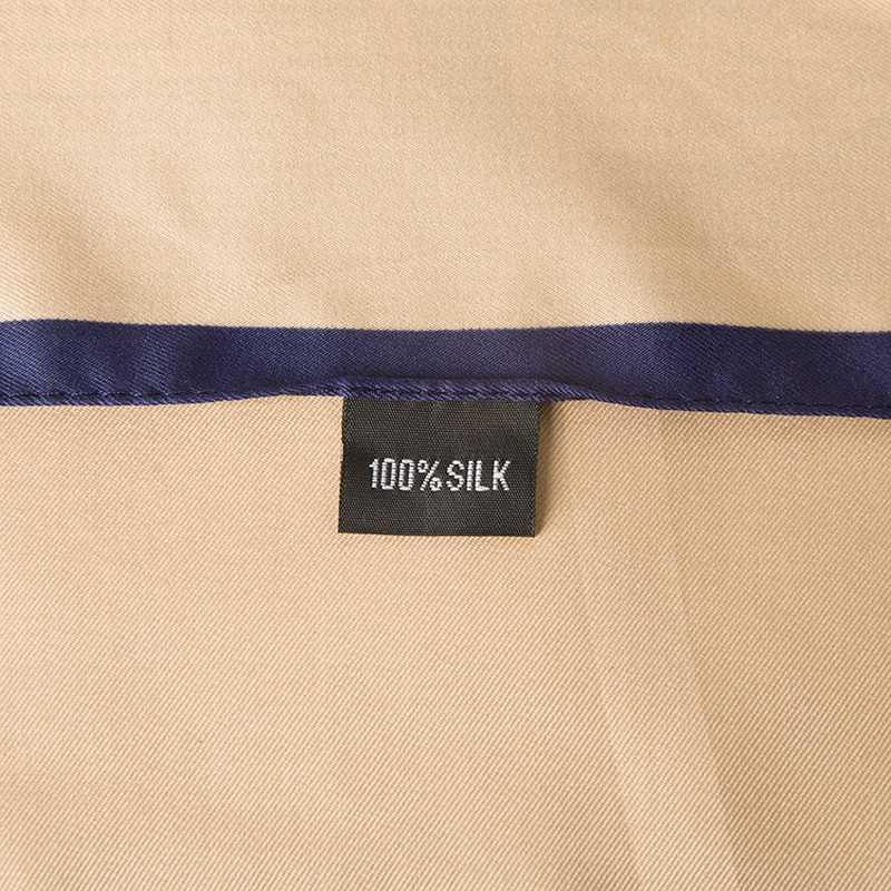 POBING люксовый бренд 100% Шелковая игрушка-шарфик медведь квадратный платок мультфильм стильные шарфы и обертывания большой размер шейный платок хиджаб банданы