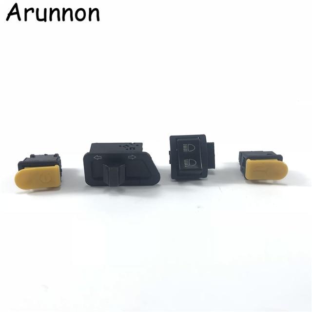 Motorcycle Accessories Far and near lamp turn signal horn start switch button FOR HONDA DIO ZX AF18 AF27 AF28 AF34 AF35 AF38
