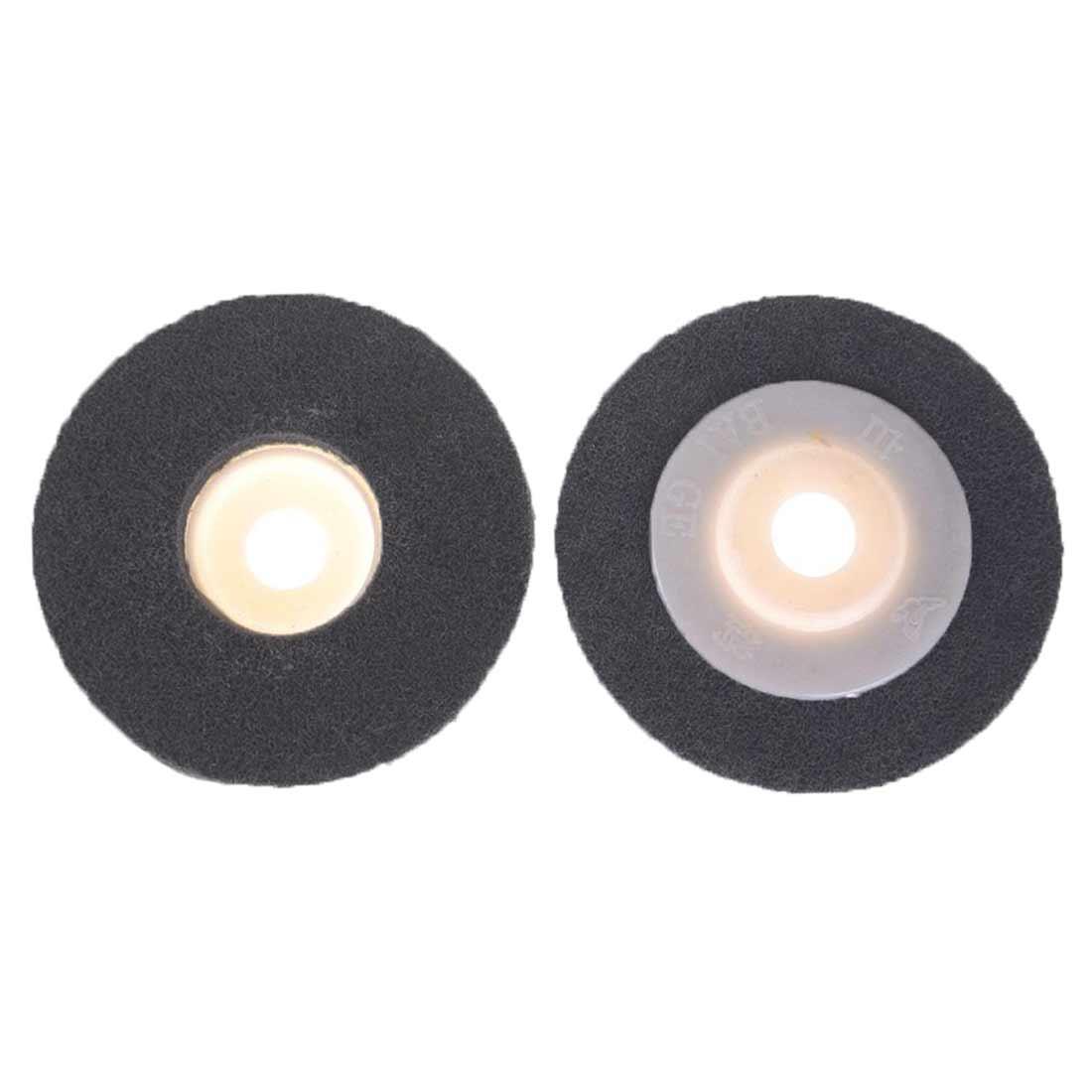 Polishing 180# Non-woven Unitized Polishing Wheel  Nylon Grinding Disc For Soft Metal Stainless Steel 100*12*16mm