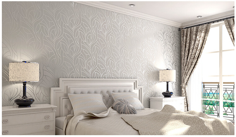 Wall paper papel de parede para quarto ceiling murals wallpaper ikea living room bedroom - Papel pintado paredes ...