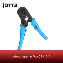 WXC8-16-4 crimping tool crimping plier 2 multi tool tools hands Mini-Type Self-Adjustable Crimping Plier fsb 054yj 0 5 1 5 1 5 2 5 4mm super strength saving mini type crimping plier