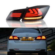 Car Styling LED Tail Lamp for Honda Accord 9 Tail Lights 2014-2016 for Accord Rear Light DRL+Turn Signal+Brake+Reverse LED light цена в Москве и Питере