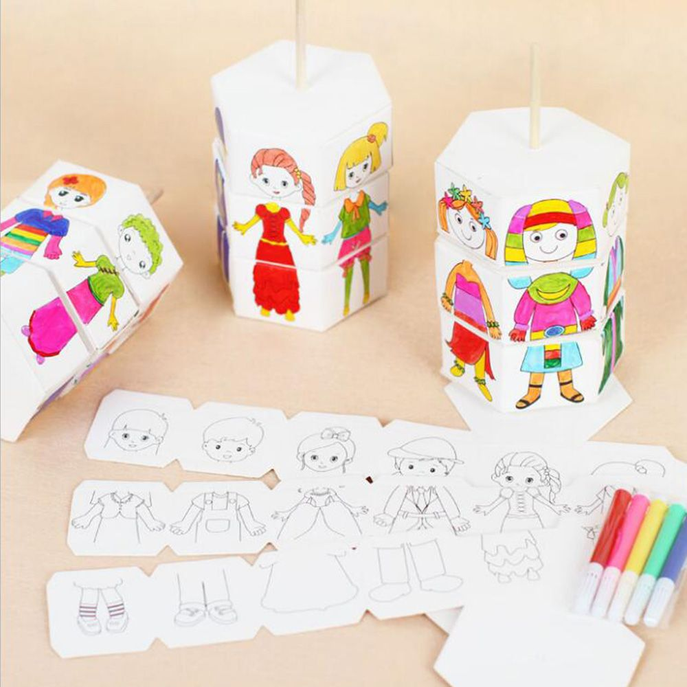 Creative Baby DIY Toys Educational Graffiti Drawing ...