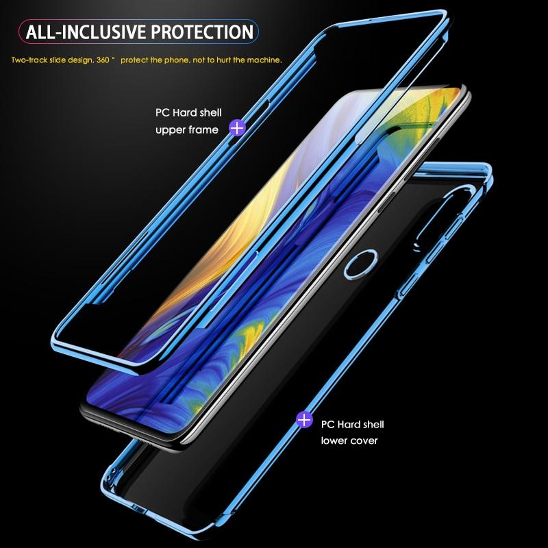 GKK Original Case for Xiaomi Mi Mix 3 Case Slide Armor 2 in 1 Hard plating Anti drop Back Cover for Xiaomi mi mix3 Case Fundas in Fitted Cases from Cellphones Telecommunications