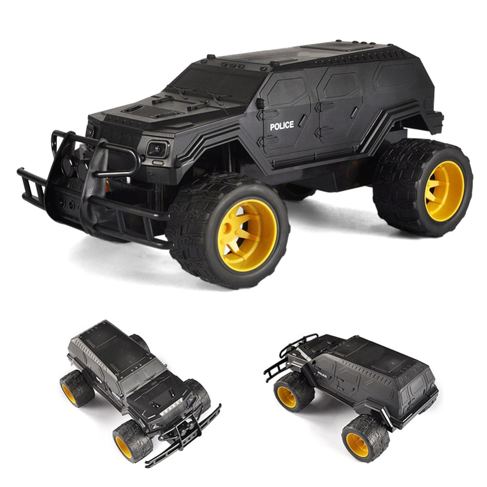 For Double Eagle 1:12 Simulation Ratio Special Police Explosion proof Car E320 001 Children's Electric Remote Control Car Toy