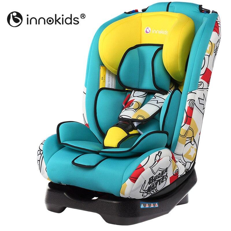 Innokids ребенок безопасности автокресло стул-бустер Регулируемая Высота сидя и лежа пятиточечный ремень безопасности для новорожденных безо...