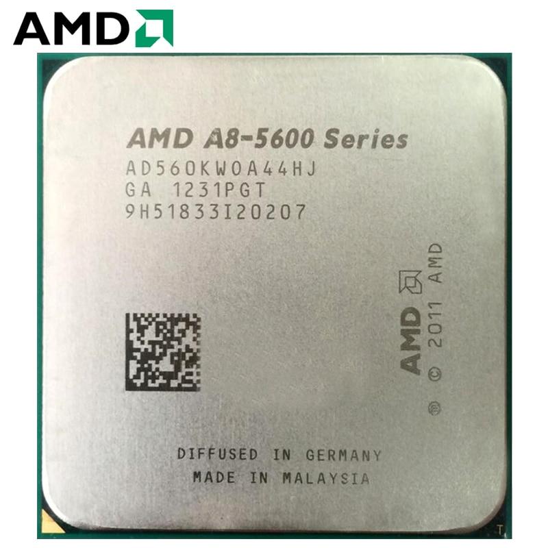 AMD A8-Series CPU A8-5600 A8 5600K A8 5600 PC computer 3.6GHz Quad-Core Desktop Processor AD560KWOA44HJ Socket FM2 1