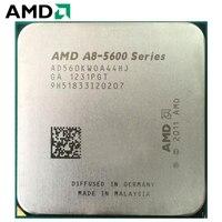 AMD A8 Series CPU A8 5600 A8 5600K A8 5600 PC computer 3.6GHz Quad Core Desktop Processor AD560KWOA44HJ Socket FM2