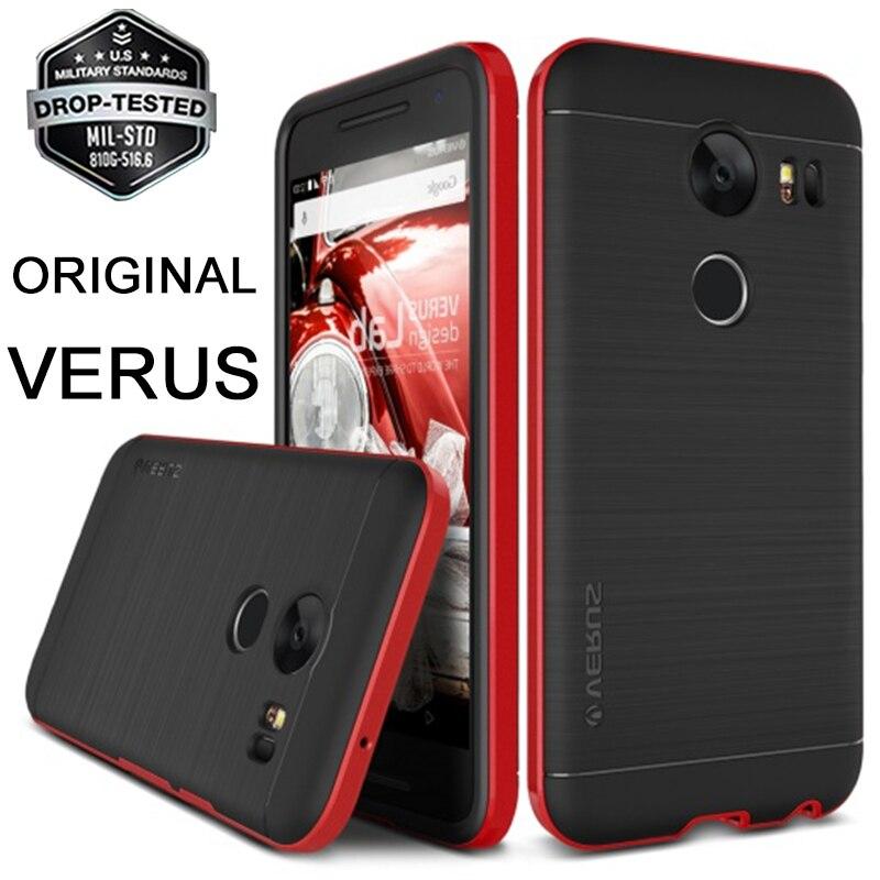 Original VERUS For Google Nexus 5X Case High Pro Shield Series Dual Layer Hybrid Hard Frame