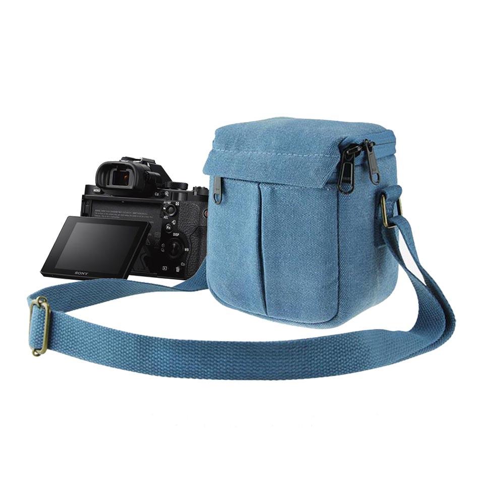 Shockproof Bag Camera Shoulder Strap Canvas Bag for Nikon Coolpix J1 J2 J3 J4 J5 V3 V2 S7000 P610s L330 B500 P100 P80 P7800 Bags