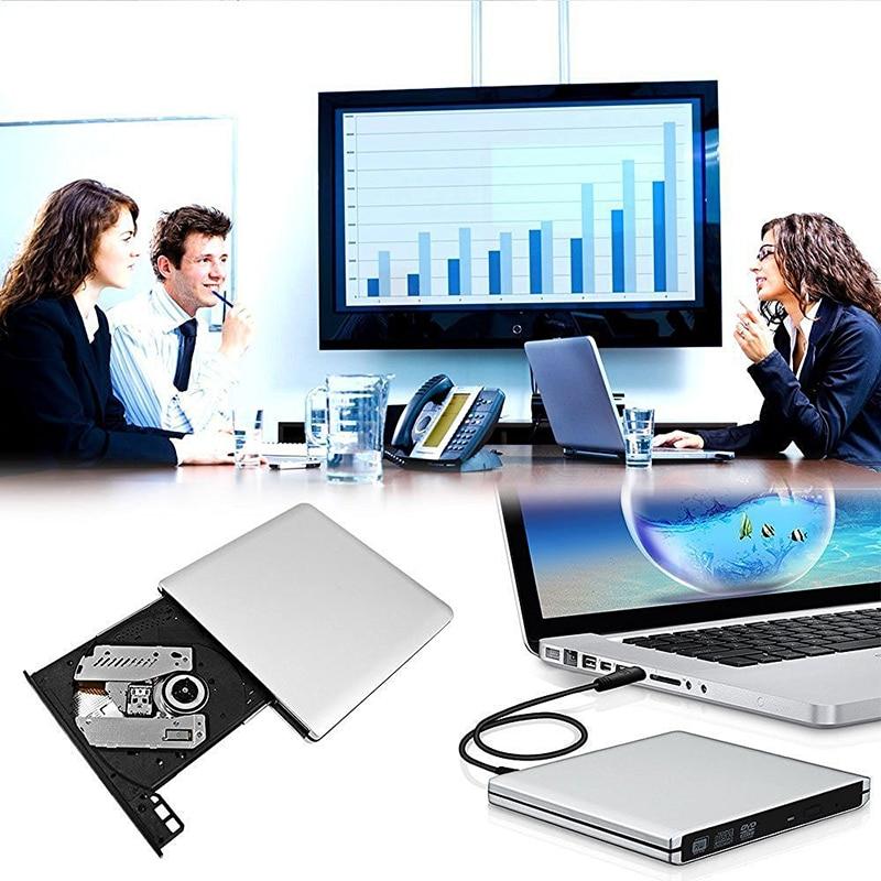 USB 3.0 DVD-kirjutaja DVD-ROM-i mängija Väline optiline draiv CD / - Arvuti komponendid - Foto 5