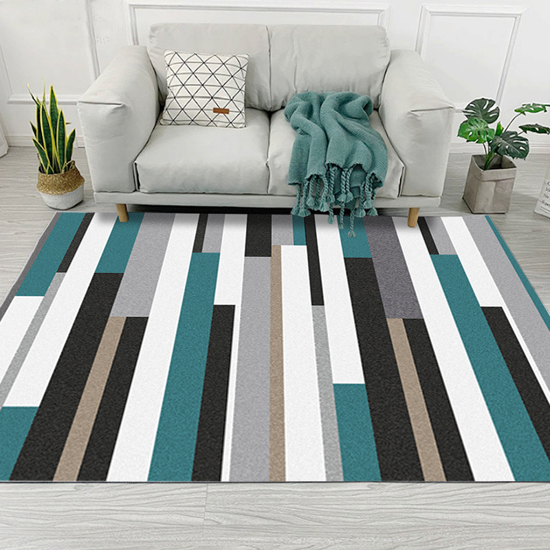 Modern Geometric Simplicity Art Carpet For Living Room Bedroom Anti-Slip Floor Mat Fashion Kitchen Carpet Area Rugs Customizable