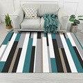 Moderne Geometrische Einfachheit Art Teppich Für Wohnzimmer Schlafzimmer Anti Slip Boden Matte Mode Küche Teppich Teppiche Anpassbare-in Teppich aus Heim und Garten bei