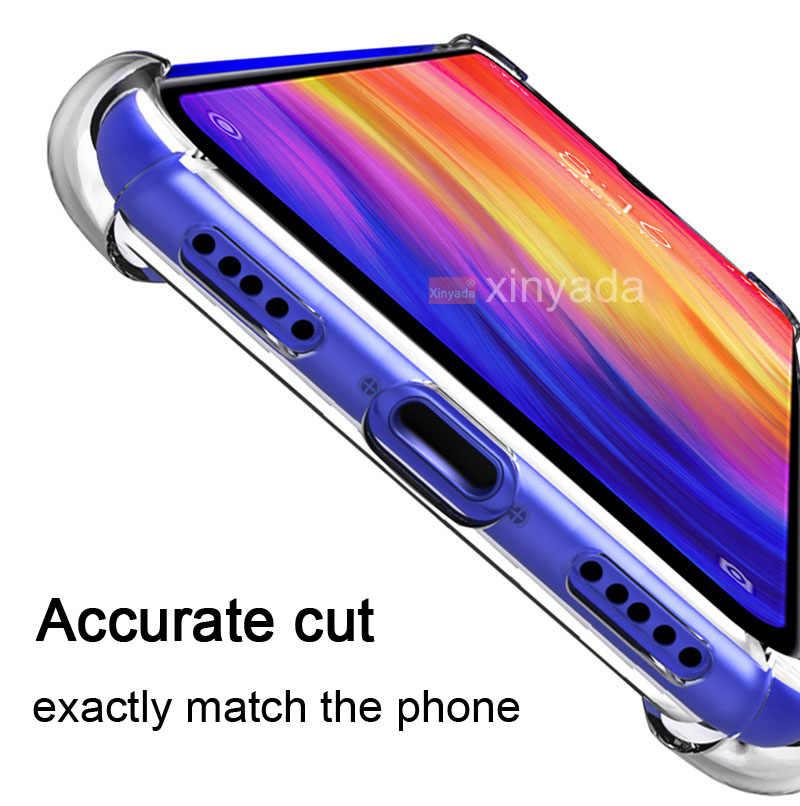 Прозрачный чехол для телефона чехол для huawei honor 8A 8C 8X Y9 2019 чехол легкая мягкая задняя панель из ТПУ силиконовый чехол-бампер из ТПУ противоударный чехол Роскошный телефон в виде ракушки