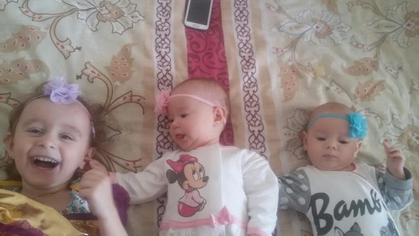 TWDVS Carino Neonato Fiore Principessa Perla Strass Fascia Per - Accessori per vestiti - Fotografia 2