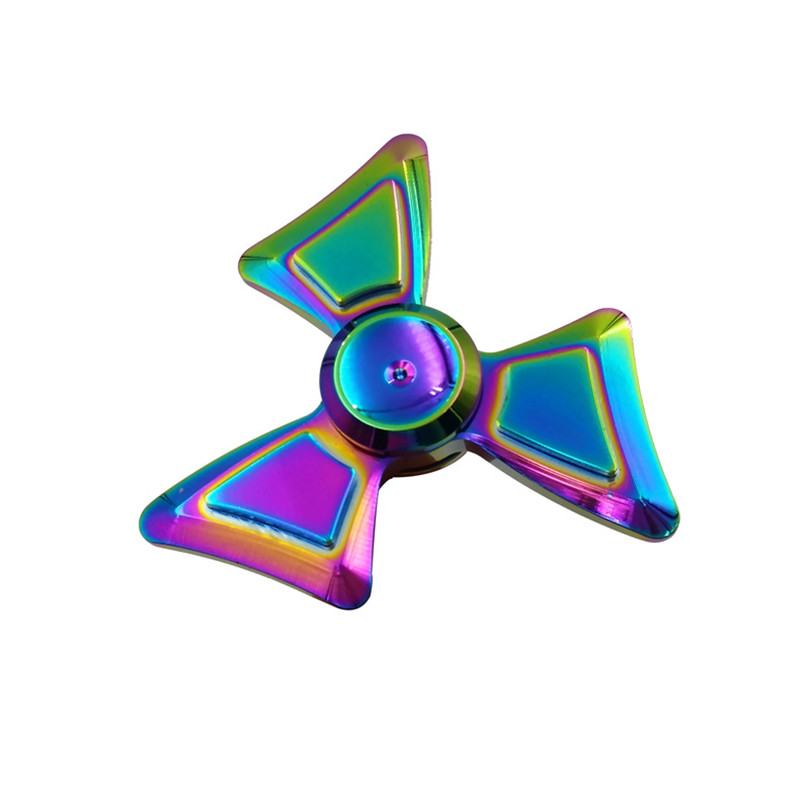 Hand Spinner Tri Spinner Fidgets Toy EDC Sensory Fidget Spinner For Autism and ADHD Kids Adult