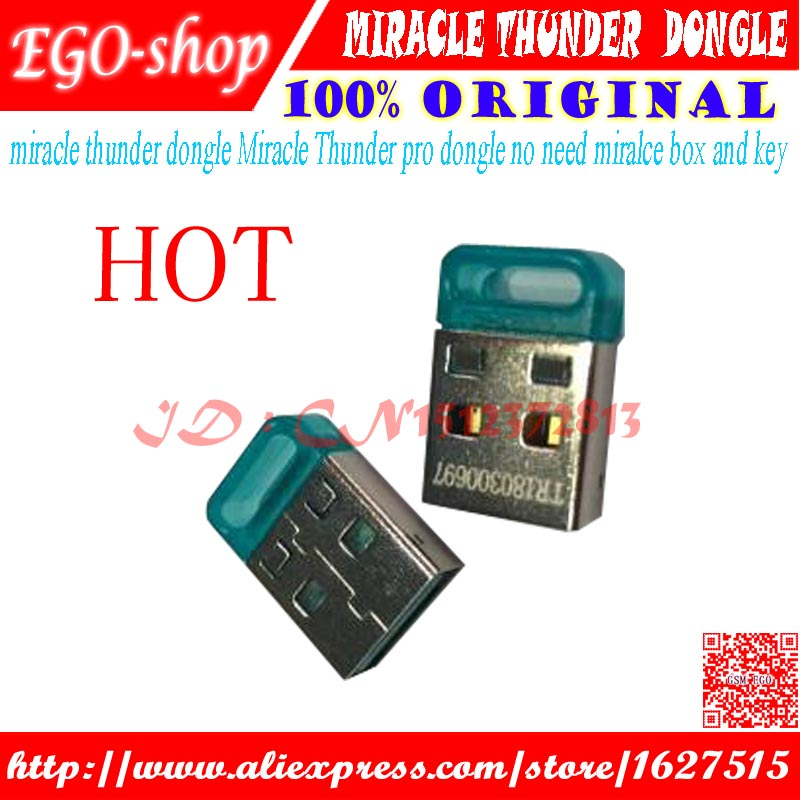 gsmjustoncct miracle thunder dongle Miracle Thunder pro dongle