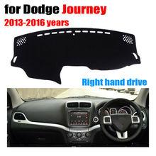 Приборной панели автомобиля охватывает мат для Dodge Journey 2013-2016 лет правым dashmat Pad Даш Крышка Автоматический аксессуары