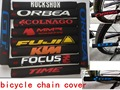 1pc bicycle chain cover Cycling frame sticker Bicycle Accessories bike Chain Protector Chain Care sricker cover repair tool kit