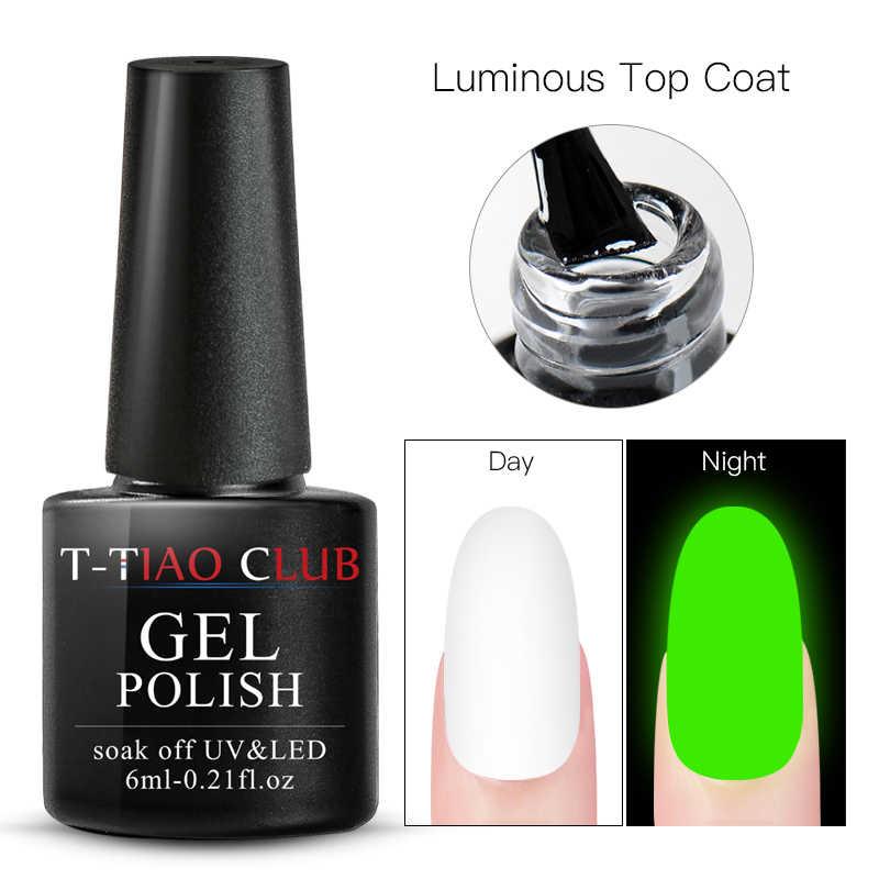 T-TIAO CLUB Multi-verwenden Matte Luminous Top Mantel Schälen Burst Basis Mantel Primer Nagel Gel Polnisch Tränken weg Nägel kunst Maniküre Tipps