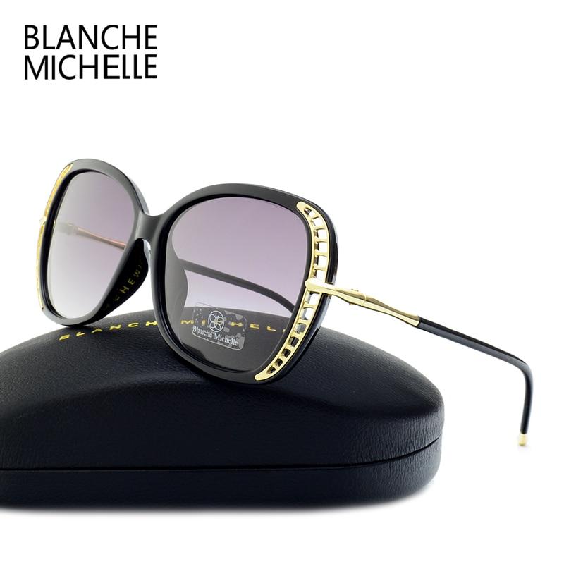Blanche Michelle font b Fashion b font Sunglass Luxury Brand font b Polarized b font Sunglasses