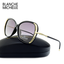 Blanche Michelle Fashion Sunglass Luxury Brand Polarized Sunglasses Women Designer 2017 UV400 Sun Glasses oculos de sol feminino