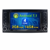 Newest 7 Android 5 1 Car Radio Stereo DVD GPS Navi For Volkswagen VW Touareg T5