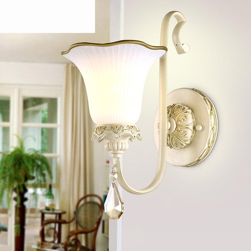 ФОТО New American Country Style Outdoor Wall Lamp Retro Waterproof Courtyard Light For Bar Coffee Shop Vintage Corridor Lights