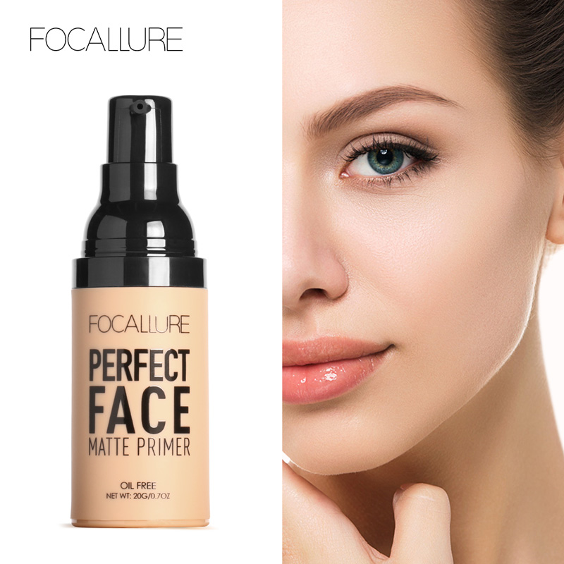 Focallure Face Base Makeup Primer Natural Foundation Makeup proof Smooth Eye Face Matt Primer Oil Control Brighten Facial Primer mary kay foundation primer