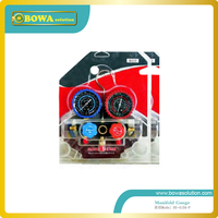 Only R410a manifold Gauge set with aluminium alloy valve body for R410a equipment repairing or asemblying