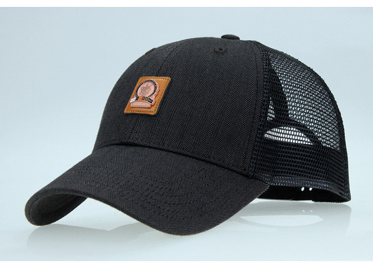 4ef2f7e419ce9 AKIZON  Trucker Cap Mesh Baseball Caps Summer Hats For Men Fashion ...