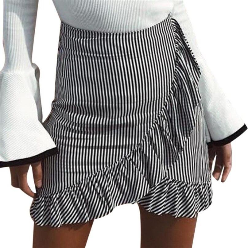 Сексуальная белая мини юбках