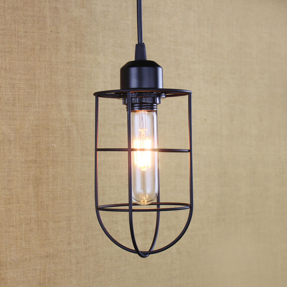 Industrial vintage rustic pendant chandelier ceiling light for Diy rustic pendant light