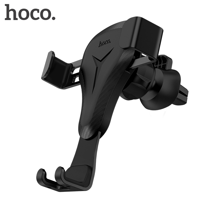 HOCO Car Holder 360 Degree Rotating Air Vent Mount Central console Suction Stand for iPhone Samsung Xiaomi 4-6 inch Mobile Phone