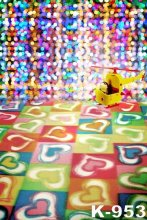 5 7ft Painted Backdrops Dot Lighting Dream font b Photo b font Backgrounds Child Muslin Backdrops