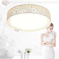 Европейские роскошные светодиодный потолочный светильник современные лампы гостиной спальня кухня поверхностного монтажа Потолочный с д