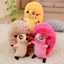 Creative Simulation Hedgehog Plush Toys Stuffed Animal Cute Small Soft Doll Toy Children Gifts