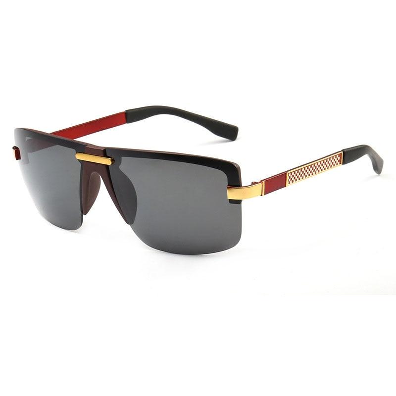 steampunk Schutzbrillenmänner carter randlose Sonnenbrille - Bekleidungszubehör - Foto 5