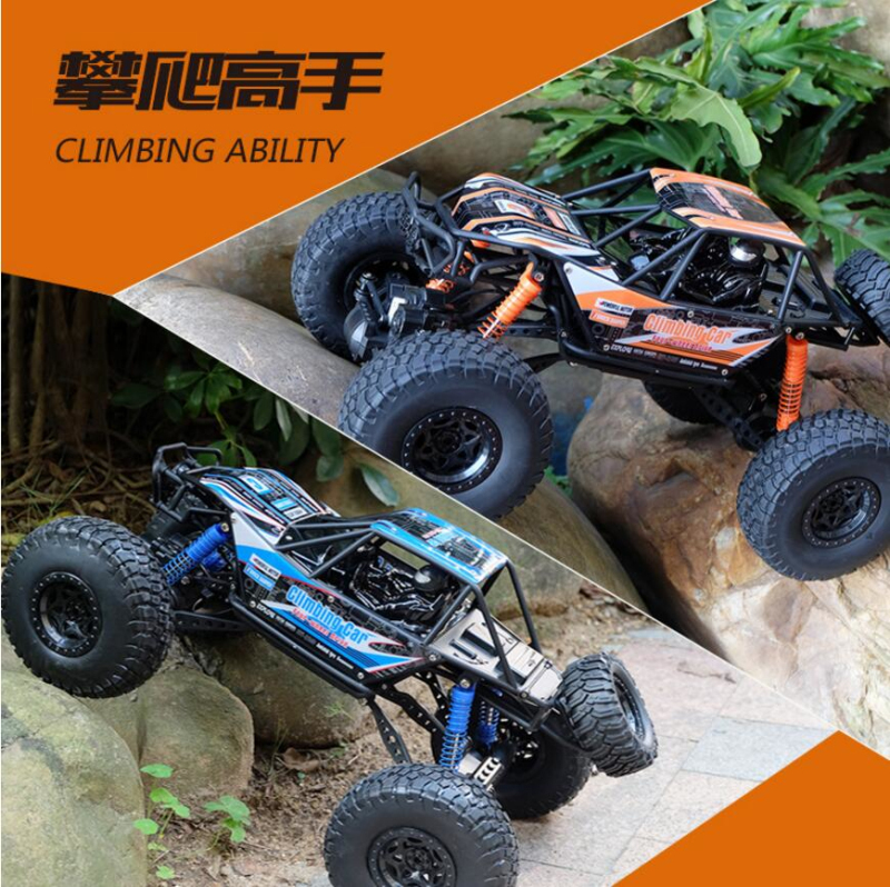 Clasic Boy Electric RC Truck Model 2.4G 1:14 High Speed 4WD Rock Crawlers Off-Road Climbing Remote Control Hobby RC Truck Toy childred 1 32 detachable kids electric big rc container truck boy model car remote control radio truck toy with sound
