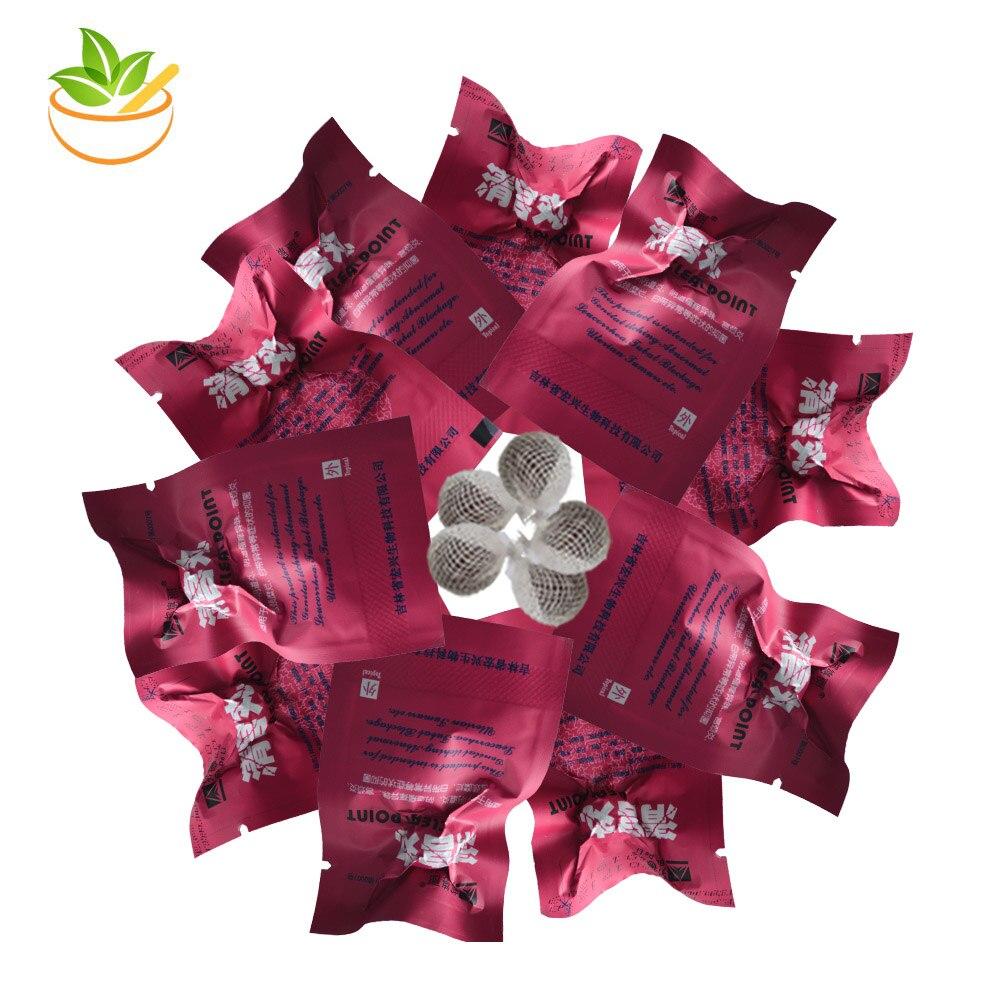 10 Pcs Herbal Detox Tampons Vaginal Detox Yoni Pearls Beautiful Life Tampon Clean Point Bang De Li Tampons Women