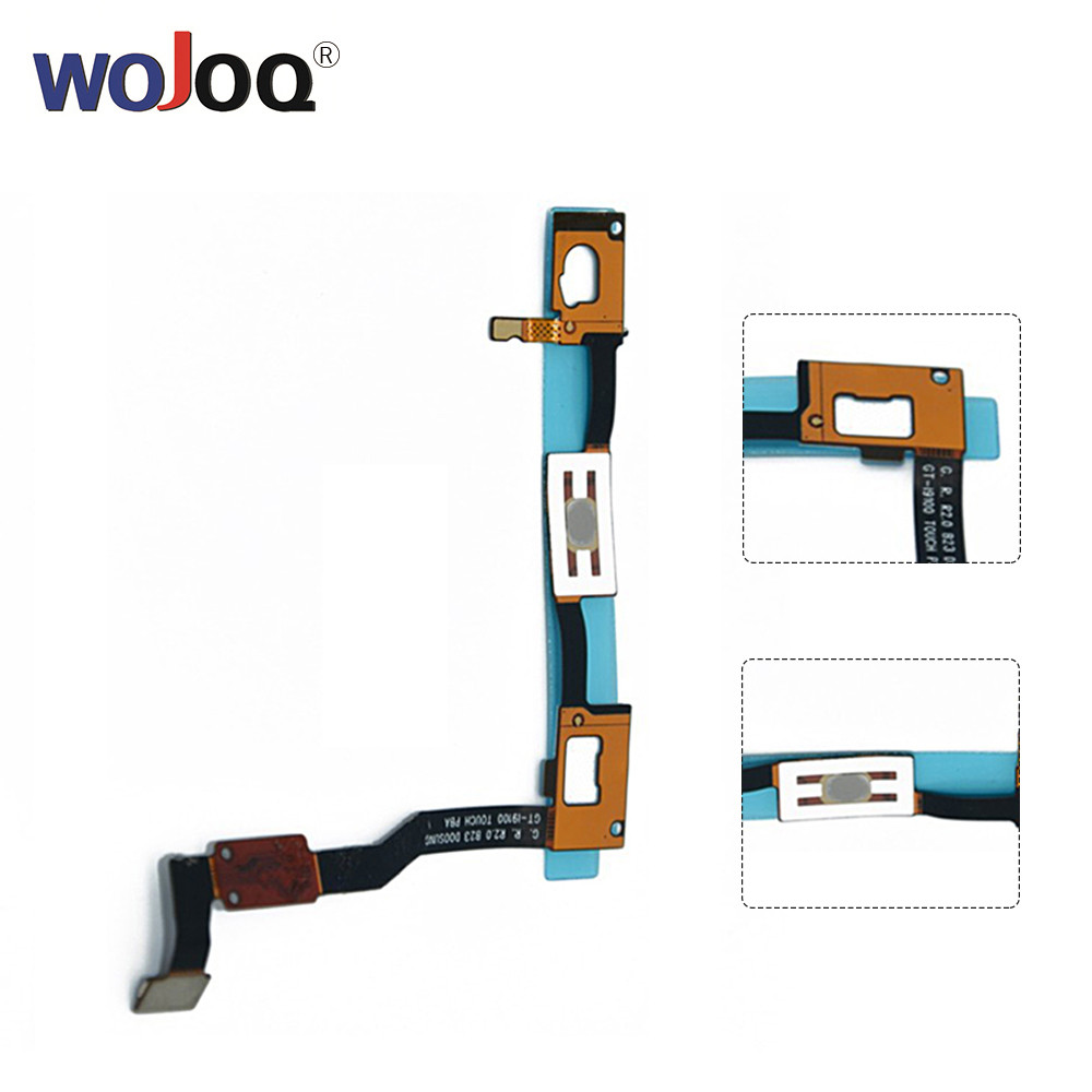 WOJOQ New For Samsung S2 II I9100 GT-I9100 Home Return Key Menu Button Flex Cable Replacement Repair Parts