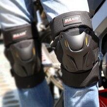 2 unids/par rodilleras de motocicleta, Protector de rodilla para Moto, Protector de rodilla para Moto, protectores de equipo resistentes al frío