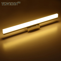 Longer LED Mirror Light 40CM 100CM AC90 260V Modern Cosmetic Mirror Front Lamp Acrylic Wall Lamp