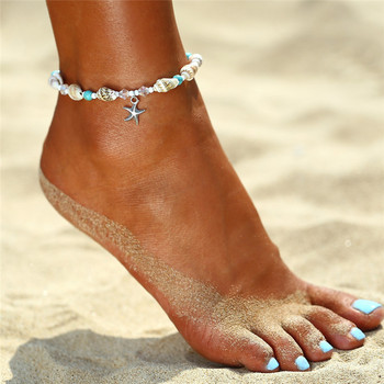 IF YOU Bohimia Sea Turtles Anklet Vintage For Women Summer Beach BOHO Bracelet on Leg Chain 2