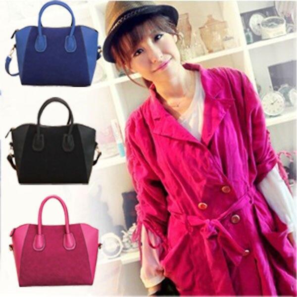 Women Messenger Bags Winter New Style Handbag PU Fashion Lady Scrubs Mosaic Bag BS88