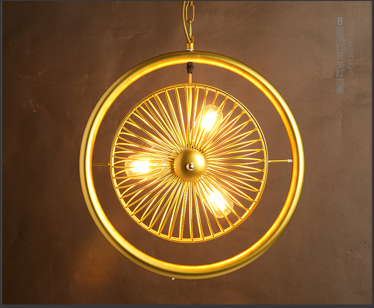 Ceiling Fan Pendant Lights Fashion Fan Lights Brief